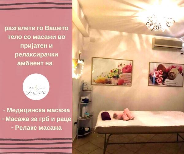 LA SENSA - Centar za masaza na mazi i zeni - Biznismap MK